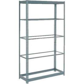 "Heavy Duty Shelving 36""W x 12""D x 84""H With 5 Shelves, No Deck"