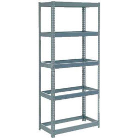 """Extra Heavy Duty Shelving 36""""W x 18""""D x 60""""H With 5 Shelves, No Deck"""