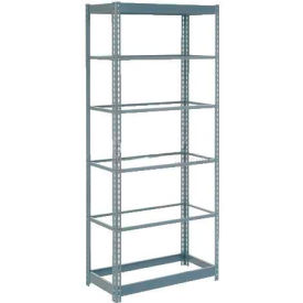 "Heavy Duty Shelving 36""W x 18""D x 96""H With 6 Shelves, No Deck"