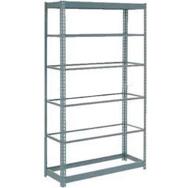 "Heavy Duty Shelving 48""W x 18""D x 96""H With 6 Shelves, No Deck"