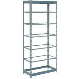 "Heavy Duty Shelving 36""W x 12""D x 96""H With 7 Shelves, No Deck"