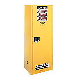 Flammable Liquid Cabinet Manual Single Door Vertical Storage