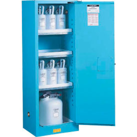 Acid Corrosive Cabinet Self Close Single Doors Vertical Storage