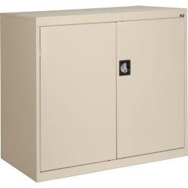 Sandusky Elite Series Counter Height Storage Cabinet EA2R462442 - 46x24x42, Putty