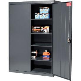 Sandusky Elite Series Storage Cabinet EA4R462472 - 46x24x72, Charcoal