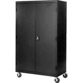 Sandusky Mobile Storage Cabinet TA4R462472 - 46x24x78, Black
