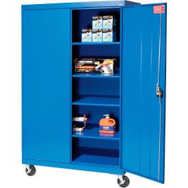 Sandusky Mobile Storage Cabinet TA4R462472 - 46x24x78, Blue