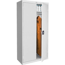 Sandusky Elite Series Wardrobe Storage Cabinet EAWR462472 - 46x24x72, Gray