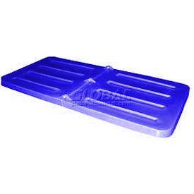Blue Lid for Bayhead Products 5/8 Cubic Yard Tilt Truck