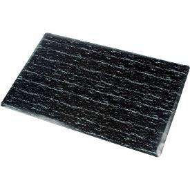 Marbleized Top Matting 36 Inch X 60 Inch Black