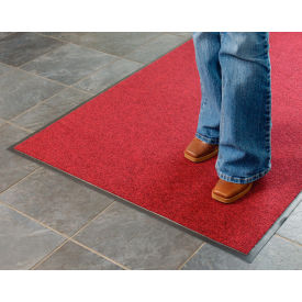 Absorbent Ribbed Mat 36x60 Red/Black