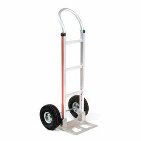 Magliner® Aluminum Hand Truck Curved Handle Pneumatic Wheels