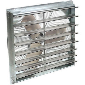 """Exhaust Ventilation Fan With Shutter 18"""" Single Speed With Hardware"""