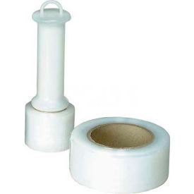 """Nifty Packaging Products Self Stick """"Twine"""" Tape, 650' L x 2"""" W, Clear"""