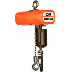 CM Valuestar Electric Chain Hoist with Chain Container - 2,000 lb. Capacity