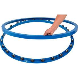Pallet & Skid Carousel Turntable Rotating Ring 4000 Lb. Capacity