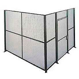 EZ Wire Mesh Partition Component Panel 3'Wx10'H