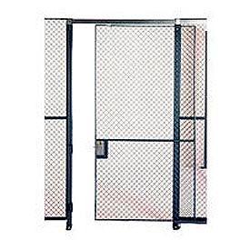 Husky Rack & Wire EZ Wire Mesh Partition Sliding Door - 6'Wx10'H