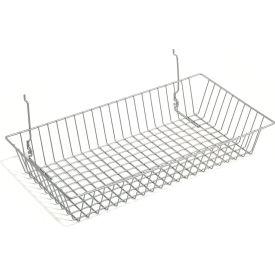 Wire Utility Basket 24x12x4