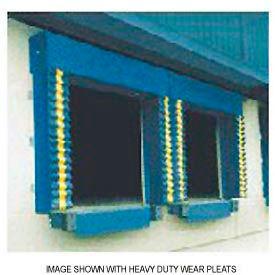 Chalfant Blue Dock Door Seal Model 130 Heavy Duty 40 Ounce 8'W x 9'H