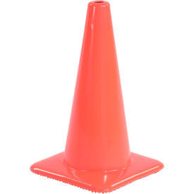 Traffic Cone Non-Reflective With Custom Imprinting, 1850-00-L - Pkg Qty 50