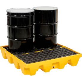Eagle 1645 4 Drum Low Profile Spill Containment Pallet