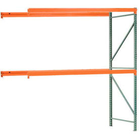 "Interlake Mecalux Pallet Rack Tear Drop Add-On 96""W x 36""D x 96""H"
