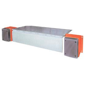 "Mechanical Edge of Dock Leveler 72"" Usable W, 108"" Overall W, 20,000 Lb. Cap."