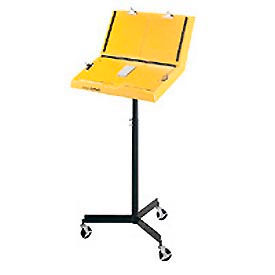 Hubbell A1000S Standard Single Leg Document Stand