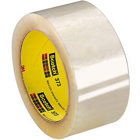 "3M™ Scotch 373, 2"" X 55 Yard Clear Carton Sealing Tape, 2.5 Mil"
