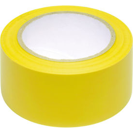 """INCOM® Safety Tape Solid Yellow, 3""""W x 108'L, 1 Roll"""