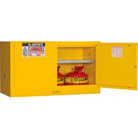 Flammable Liquid Piggyback Cabinet Manual 2 Door Vertical Storage