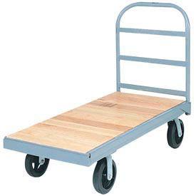Akro-Mils® Steel Bound Wood Deck Truck 48 x 24 1200 Lb. Capacity R2135MRB2448