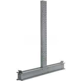 "Cantilever Rack Double Sided Upright, 82"" D x 14' H, 35200 Lbs Capacity"