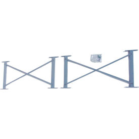 "Cantilever Rack Horizontal Brace Set, 36"" W, For 16' H Uprights, For 16' H Uprights"