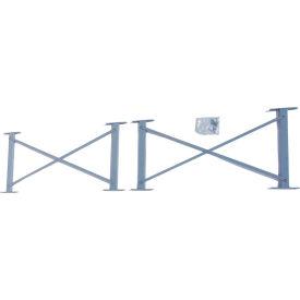 "Cantilever Rack Horizontal Brace Set, 48"" W, For 16' H Uprights, For 16' H Uprights"
