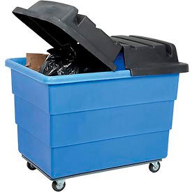 Optional Dome Lid 4617 for Rubbermaid® Plastic Utility Truck