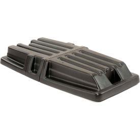 Hinged Black Lid 1307 for 1/2 Cubic Yard Rubbermaid® Tilt Trucks