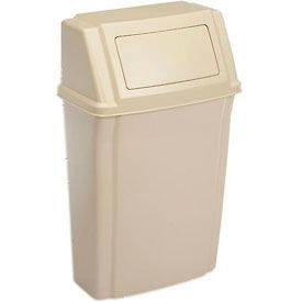 Garbage Can Recycling Plastic Indoor Rubbermaid Wall Mount