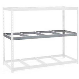 """Additional Level For Wide Span Rack 60""""W x 48""""D No Deck 1200 Lb Capacity"""