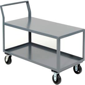 Jamco 2 Shelf All-Welded Heavy Duty Service Cart SL236 36 x 24 2000 Lb. Capacity