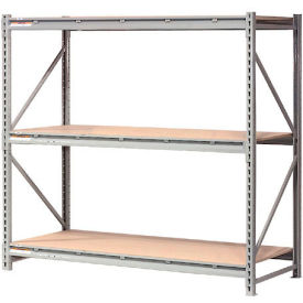 "Extra High Capacity Bulk Rack With Wood Decking 72""W x 36""D x 72""H Starter"