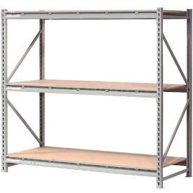 "Extra High Capacity Bulk Rack With Wood Decking 60""W x 24""D x 120""H Starter"