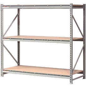 "Extra High Capacity Bulk Rack With Wood Decking 72""W x 24""D x 120""H Starter"