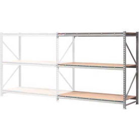"""Extra High Capacity Bulk Rack With Wood Decking 72""""W x 48""""D x 72""""H Add-On"""
