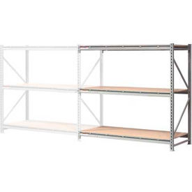 """Extra High Capacity Bulk Rack With Wood Decking 72""""W x 24""""D x 96""""H Add-On"""