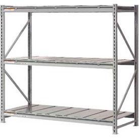 "Extra High Capacity Bulk Rack With Steel Decking 72""W x 24""D x 72""H Starter"