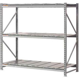 "Extra High Capacity Bulk Rack With Steel Decking 72""W x 36""D x 96""H Starter"