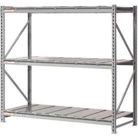"Extra High Capacity Bulk Rack With Steel Decking 96""W x 36""D x120""H Starter"