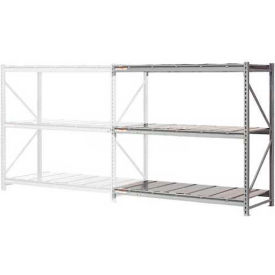 """Extra High Capacity Bulk Rack With Steel Decking 72""""W x 24""""D x 72""""H Add-On"""